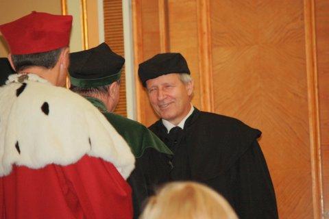 Uroczysta Promocja Habilitacyjna dr hab. Grzegorza Bartoszewicza, 2008 r.