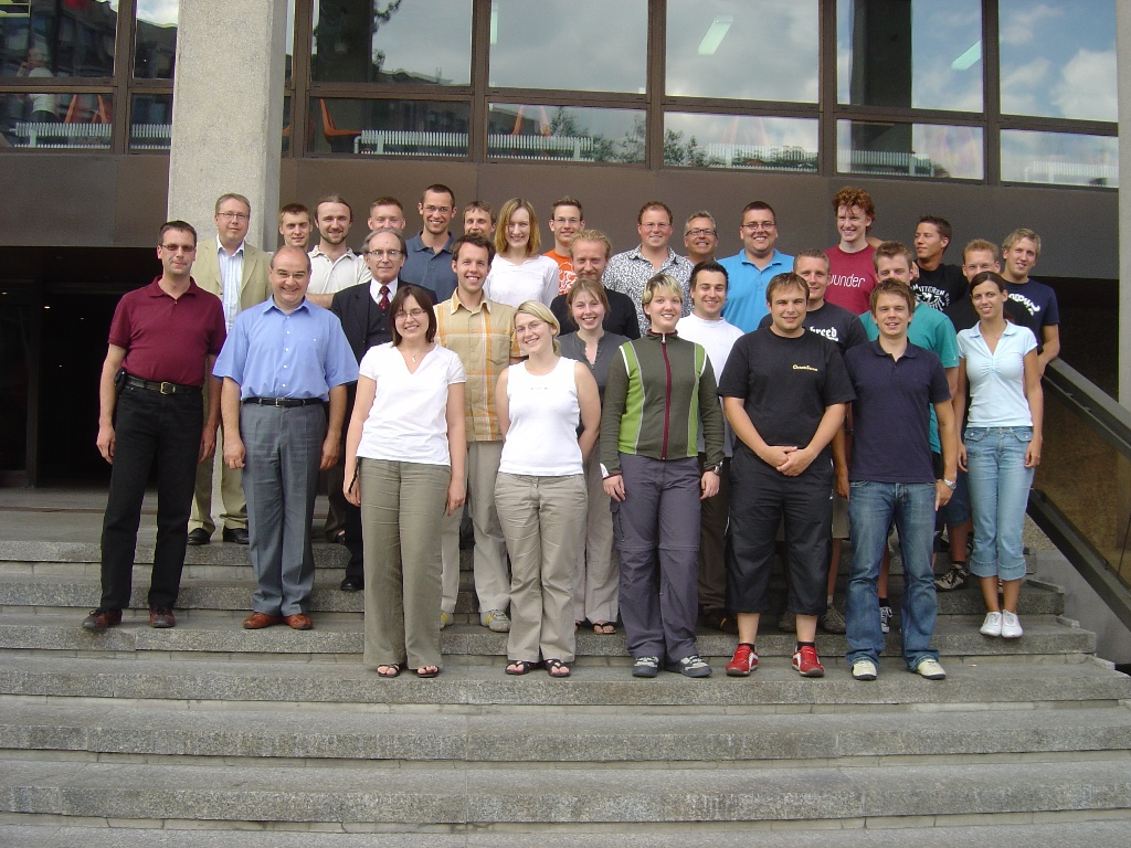 "Uczestnicy Summer School ""Web Services and SOA"", Poznań 2006 r."